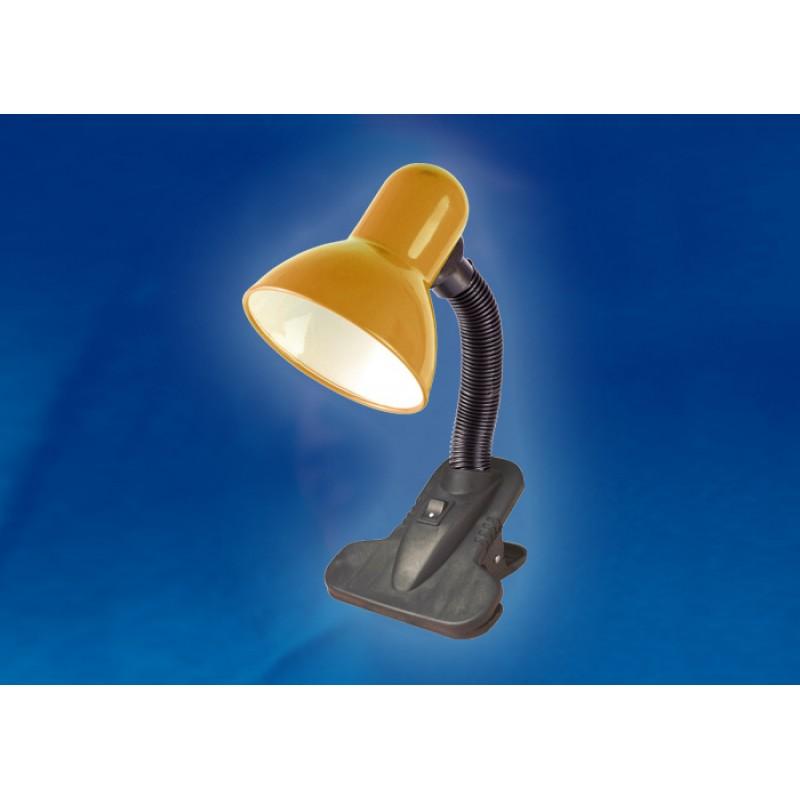 Настольная лампа на прищепке Uniel Universal TLI-202 Orange E27