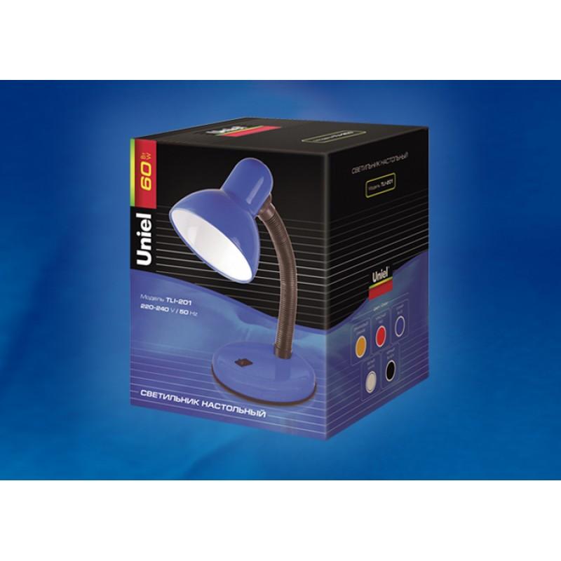 Настольная лампа Uniel Universal TLI-201 Black E27