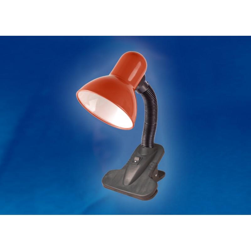 Настольная лампа на прищепке Uniel Universal TLI-202 Red E27
