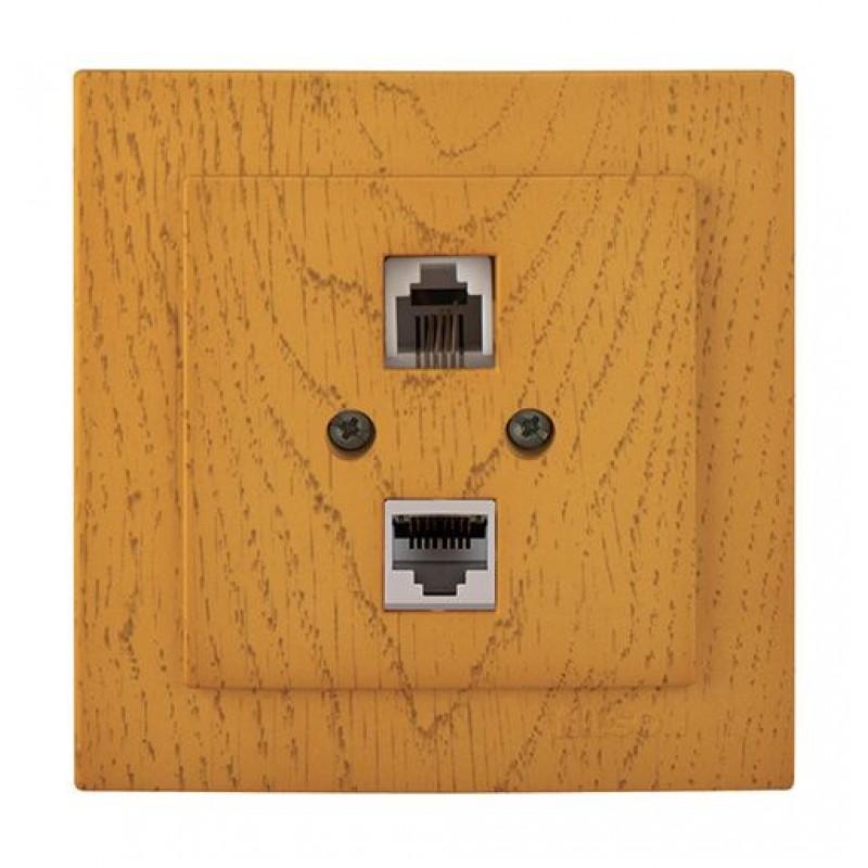 .Компьютер – Телефон RJ45 - CAT 5...