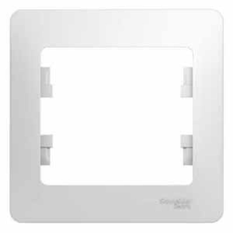 SCHNEIDER ELECTRIC Glossa Рамка 1-местная, белая GSL000101