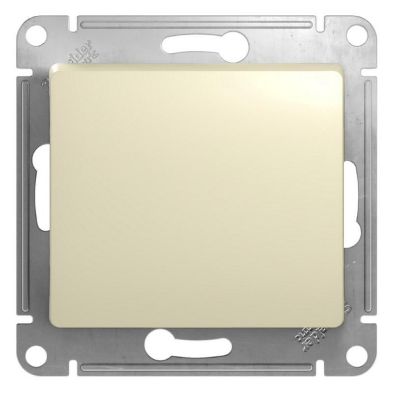 SCHNEIDER ELECTRIC Glossa Выключатель 1-клавишный, 10A 250V, бежевый GSL000211