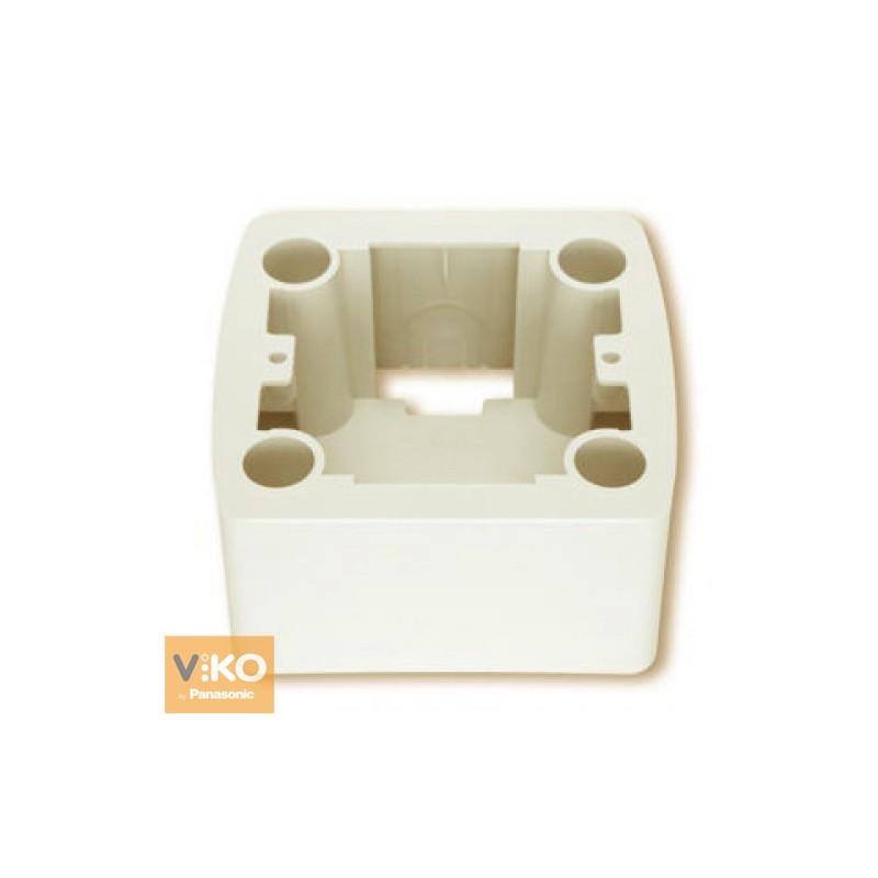 Коробка для наружного монтажа VIKO Коробка Carmen для наружного монтажа  крем