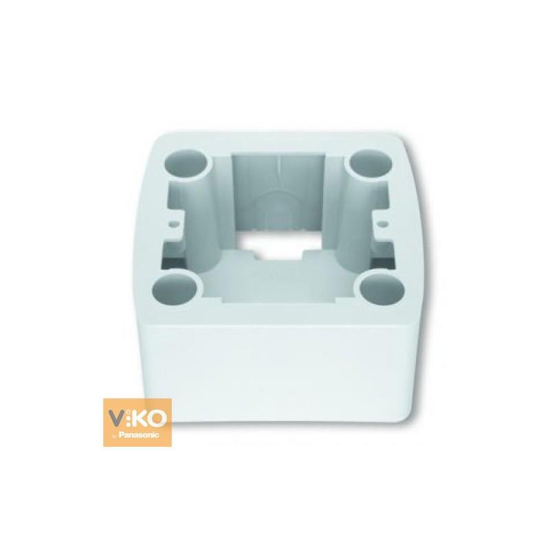 Коробка для наружного монтажа VIKO Коробка Carmen для наружного монтажа  белая