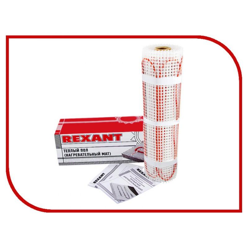 Теплый пол (нагревательный МАТ) двухжильный Rexant, 0,7 м² (0,5 х 1,4 метра), 112Вт