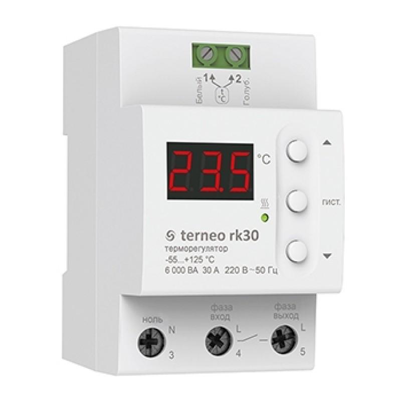 Терморегулятор для электрического котла Terneo rk30