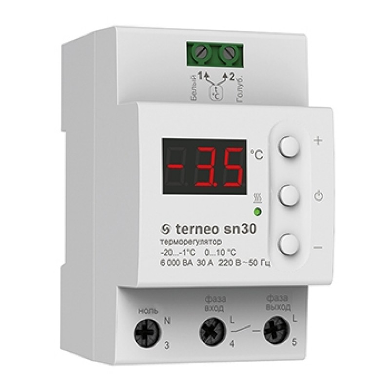 Терморегулятор для системы снеготаяния Terneo SN30