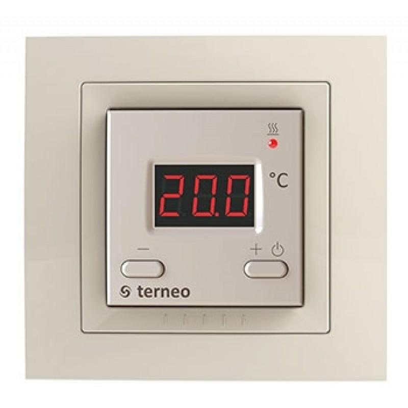Терморегулятор  terneo st unic  (слоновая кость)